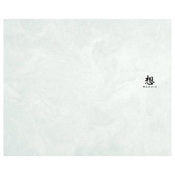 ハクバ 葬儀台紙 No.115 青 6切サイズ 1面(ヨコ)