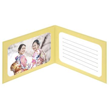使用例2:片面にメッセージカードを入れて