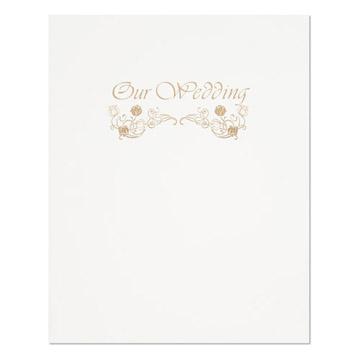 フローレンス台紙 表紙 2L用 3面 Wedding