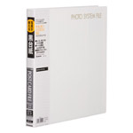 フォトシステムファイル SF-6 ポストカード用アルバム ブラック台紙