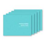お手軽写真台紙 ランス Lサイズ 2面 ヨコ ブルー 5枚セット