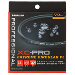 XC-PRO エクストリーム サーキュラーPLフィルター 72mm