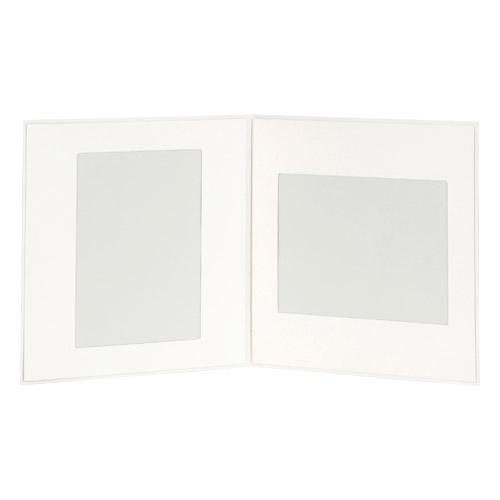 ハクバ ペーパーSQ台紙 No.177 6切サイズ 2面(角×2枚)