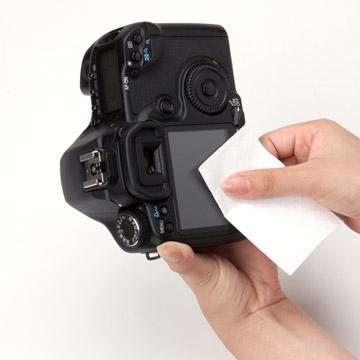 使用例:カメラの液晶に