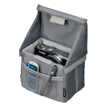 ボックス手前にはメッシュタイプの小物収納ポケット付き