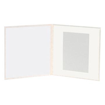 ハクバ スリムスクウェア台紙 6切サイズ 2面(角×2枚)
