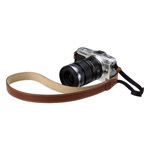 カメラ用本革ネックストラップ SM20 カラー:ブラウン