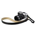 カメラ用本革ネックストラップ SM20 カラー:ブラック