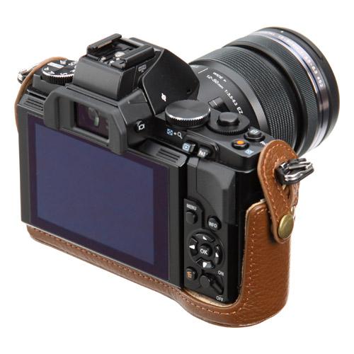 ピクスギア 本革ボディケース OLYMPUS OM-D E-M5 専用