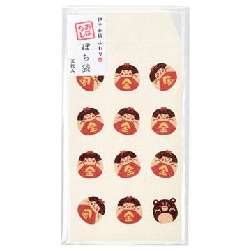 ふわり和紙 写真袋 ぽち袋(チェキサイズ)おはなしシリーズ