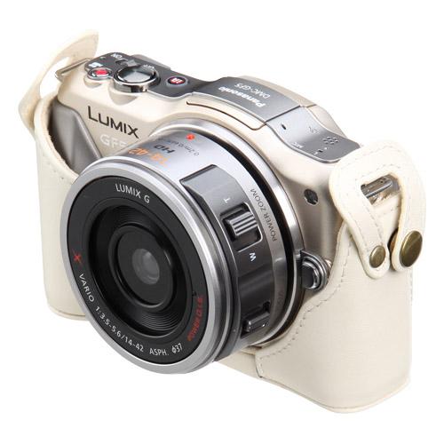 ピクスギア 本革ボディケース Panasonic GF5/GF3 専用
