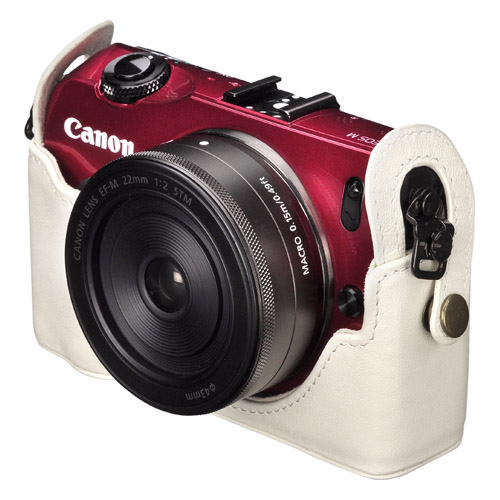 本革ボディケース Canon EOS M 専用
