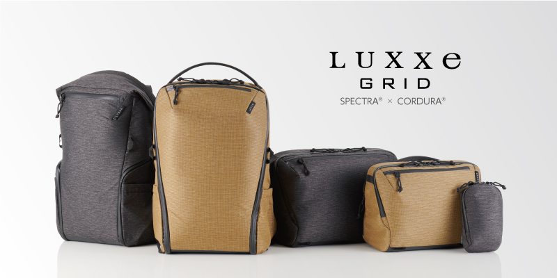 LUXXe カメラバッグ GRID 新発売