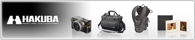 カメラバッグ・ポーチ、写真台紙、アルバム、額縁のハクバ