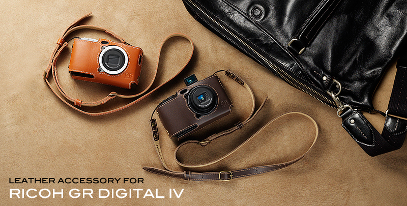 Leather Accessory for RICOH GR DIGITAL IV