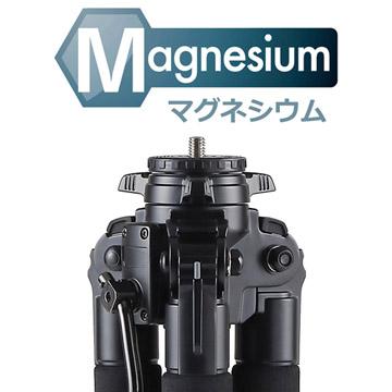 高性能マグネシウムボディ